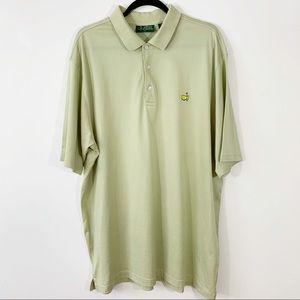 AMEN CORNERS . Masters Golf Polo S/S Shirt . XL